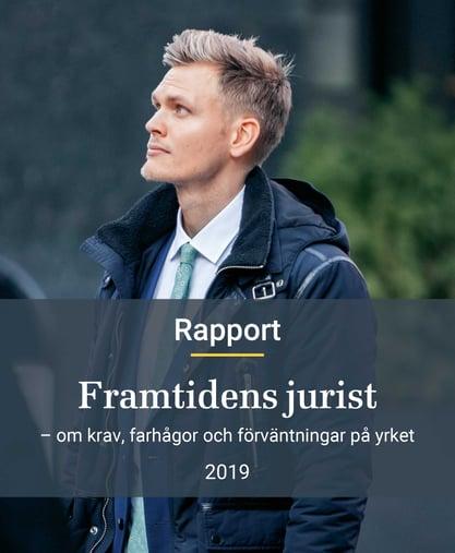 Bild framsida rapport Framtidens jurist v4